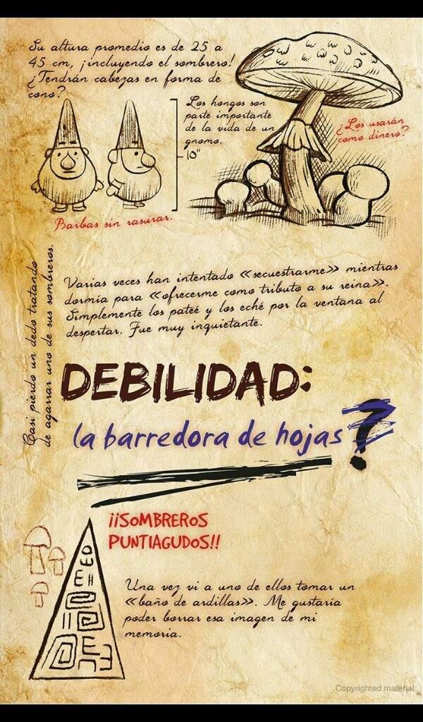 Diario 3 En Espanol Gravity Falls Amino Espanol Amino