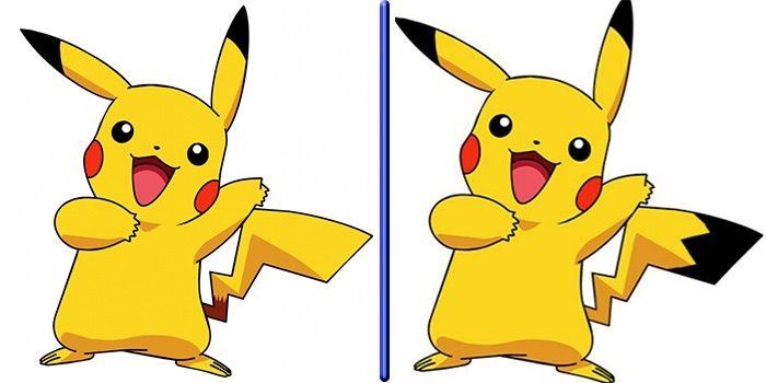 Does Anyone Else Remember Pikachu With Black On Its Tail Pokémon