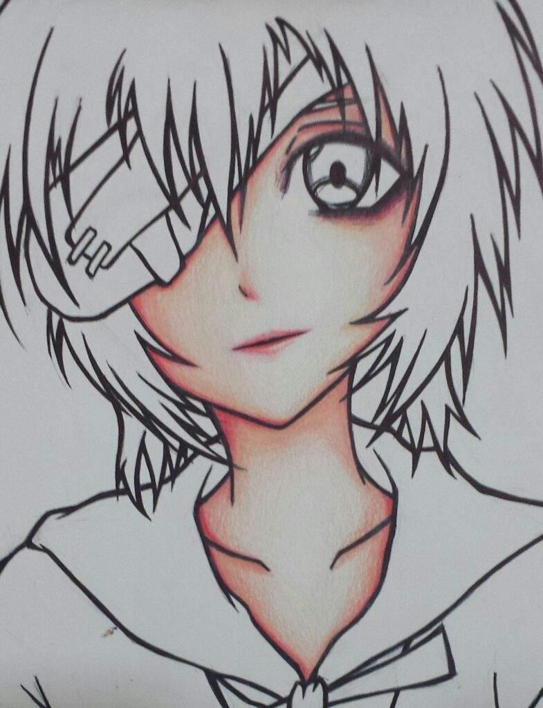 Fanart Sad Rei Ayanami Aprendiendo A Dibujar Amino