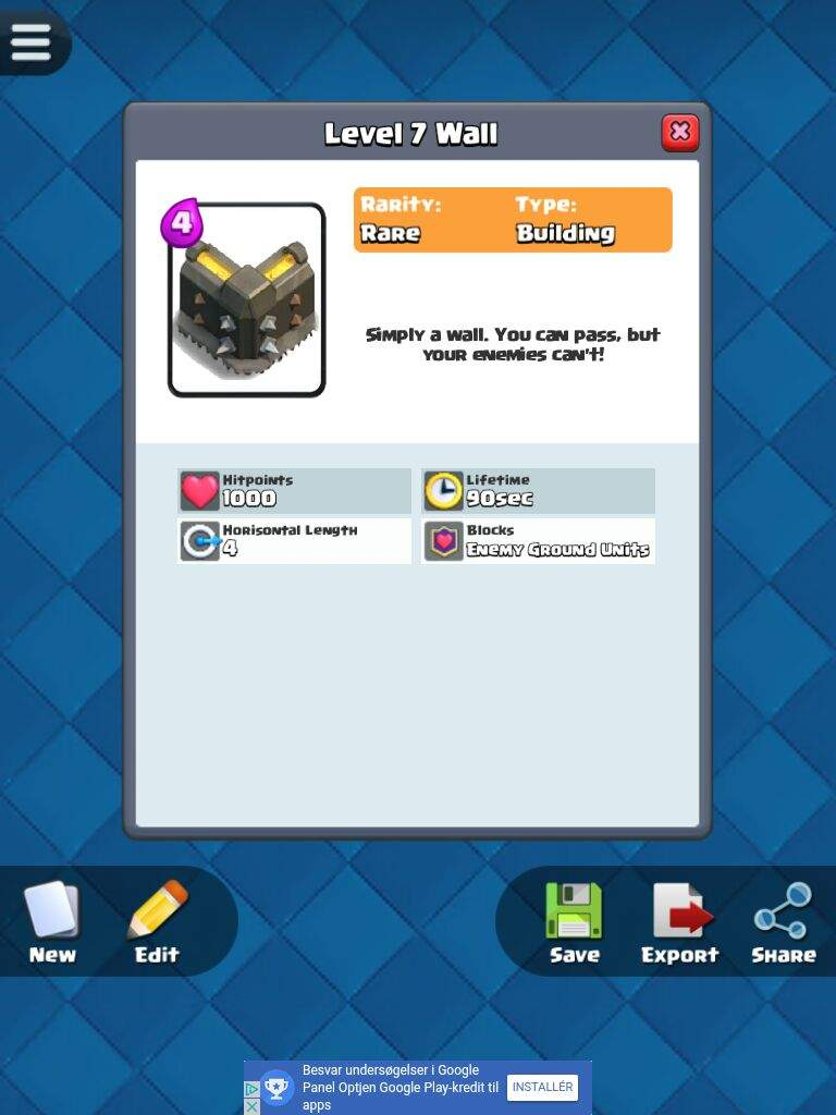 Wall | Clash Royale Amino