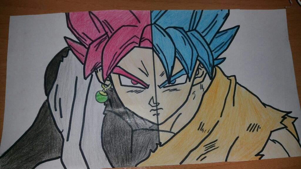Dibujo A Color De Gokugoku Black Dragon Ball Español Amino