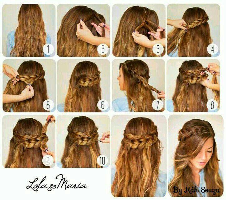 Peinados Tumblr Faciles Para Cabello Largo Paso A Paso