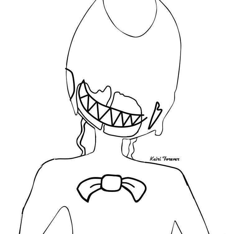 Bendy Pages Coloring Pages