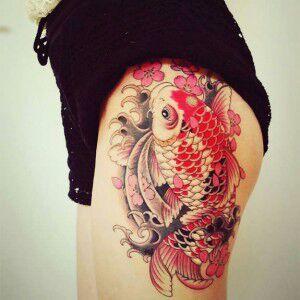 Tatuaje De Pez Koi Significado Historia Love Tattoos Amino