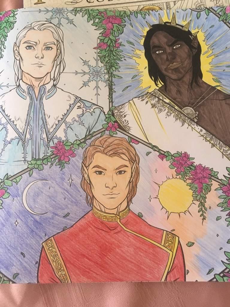 The High Lords Coloring Book Sarah J Maas Amino