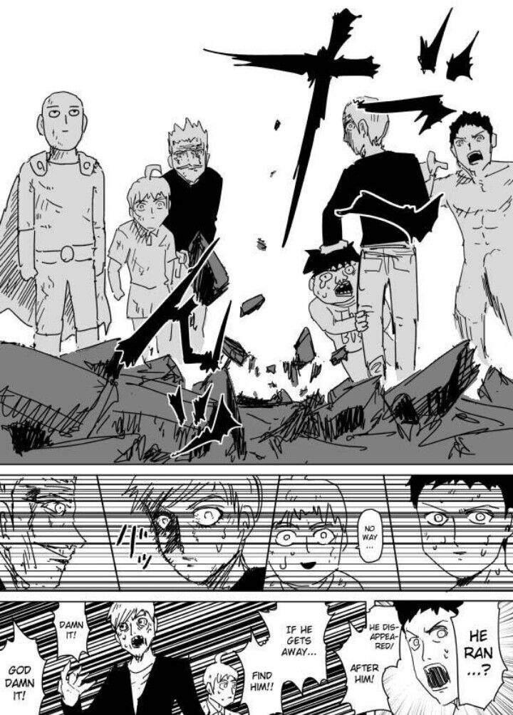 Webcomic Saitama Vs Garou ending   ONE PUNCH Amino