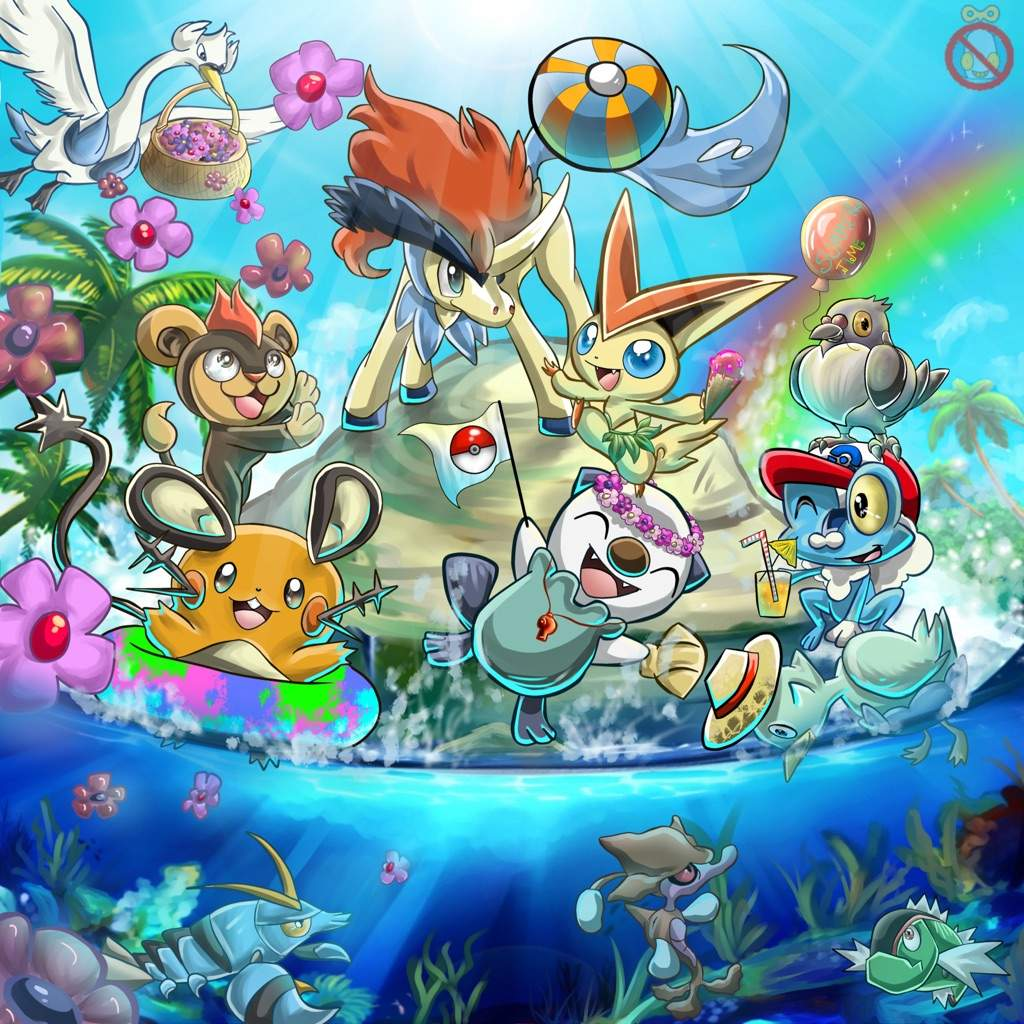 Image result for pokemon summer
