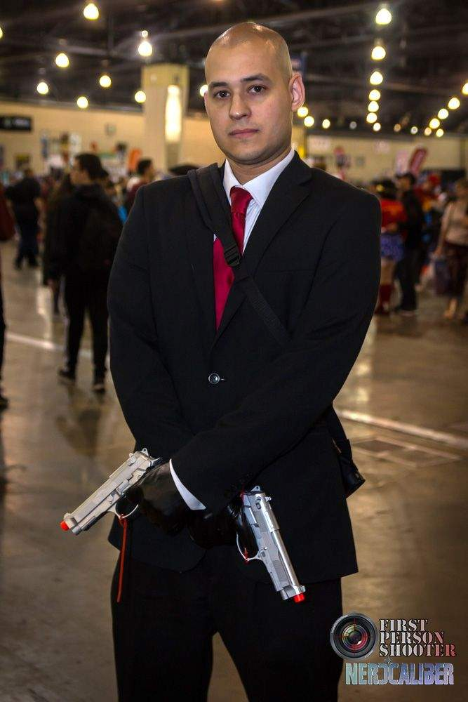 Hitman Agent 47 Cosplay At Wizard World Philly Earlier This