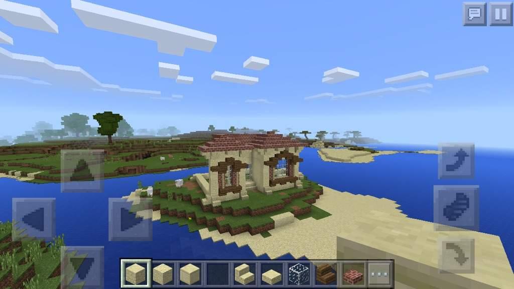 Small Island House Minecraft Amino