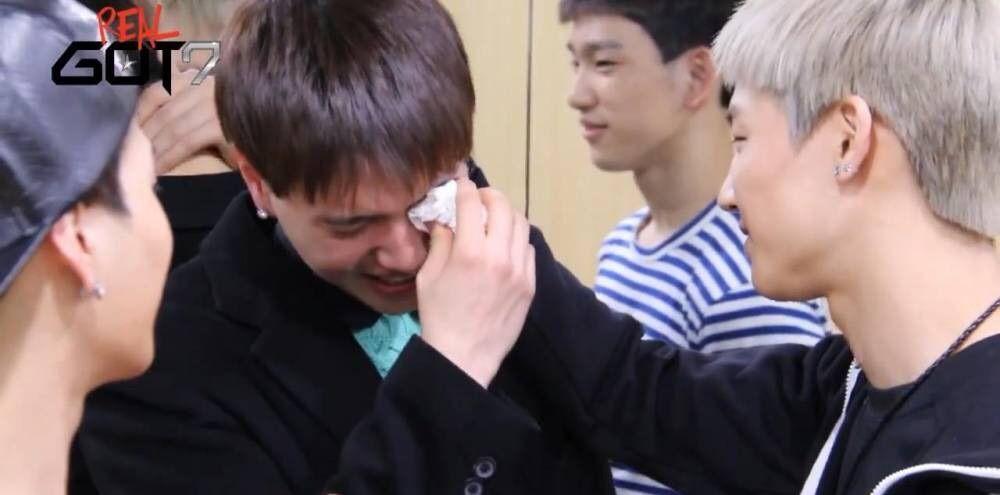 GOT7 Crying Moments:( | GOT7 Amino