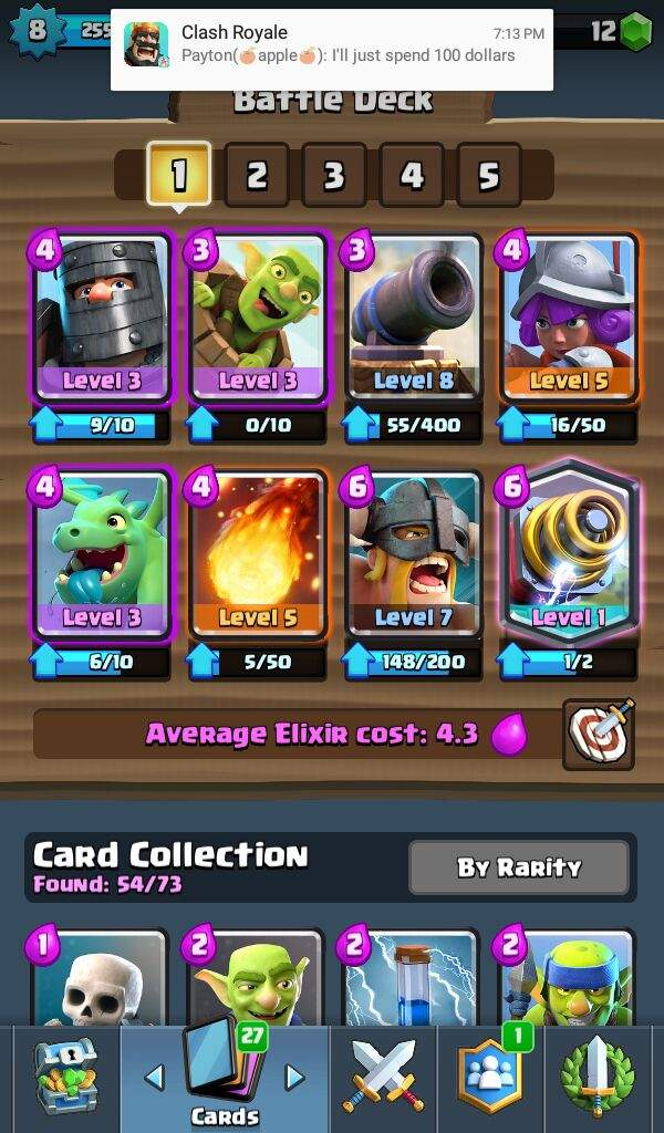 Should I Use Cannon Lvl 8 Or A Xbow 3