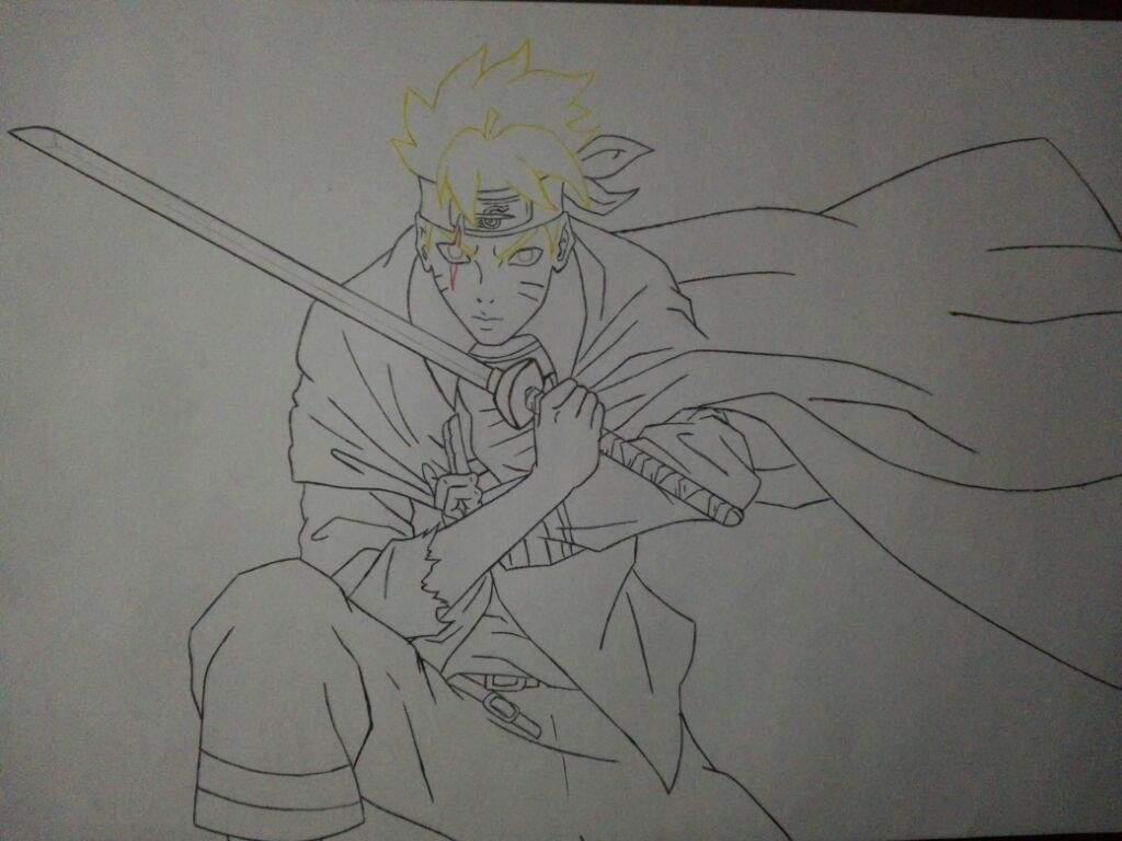 Dibujo De Boruto Adulto Naruamino Amino