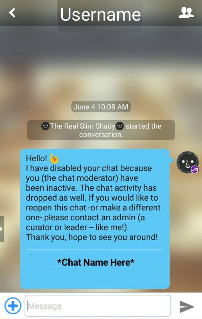 how to make a private chat room on amino