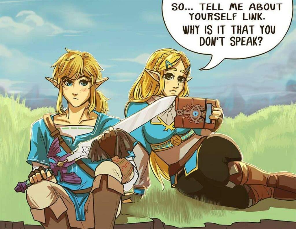 Link And Zelda Relationship Love Link, love food |...