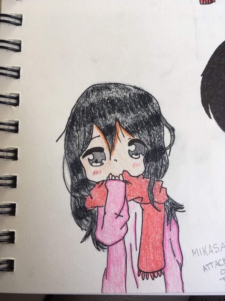 Mikasa Fan Art Attack On Titan Amino