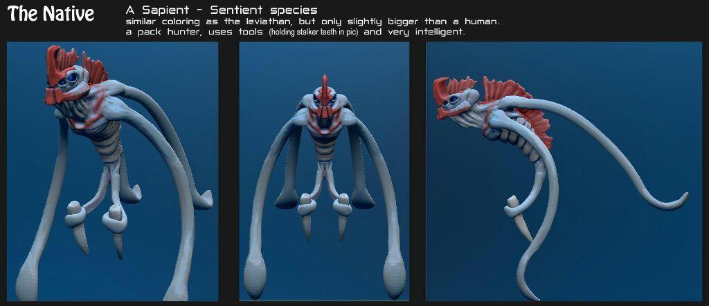 Subnautica Below Zero Shadow Leviathan 3D Model — Grabbers