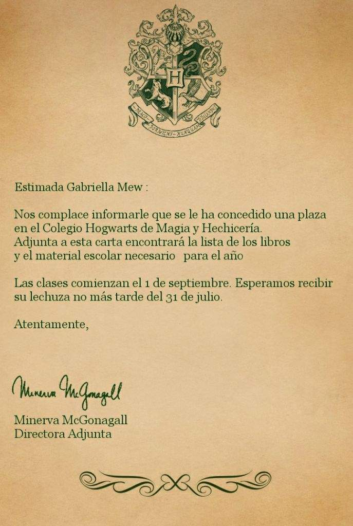 Plantilla De Carta De Harry Potter Best Quotes L