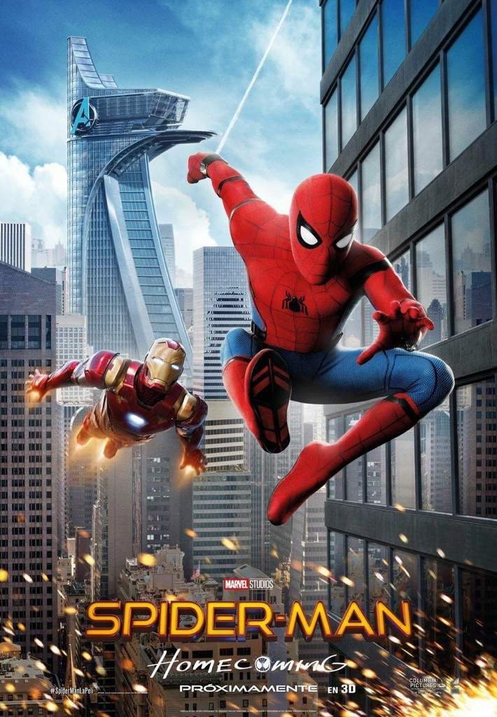 New Spider Man Homecoming International Poster