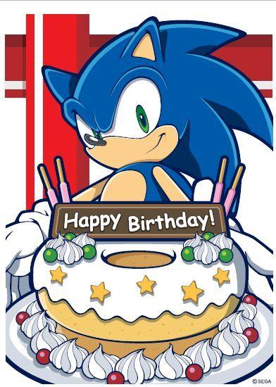 Happy Birthday Sonic The Hedgehog Sonic The Hedgehog Amino