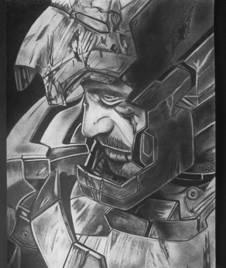Iron Man Dibujo A Lapiz Arte Amino Amino