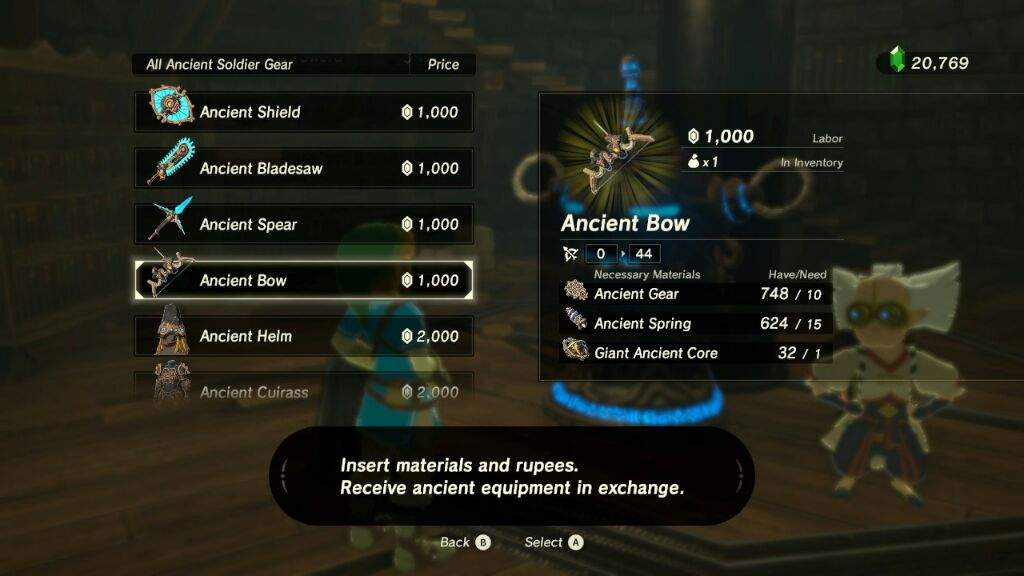 The Miniature Museum of Weapons! Exhibit: Ancient Bow