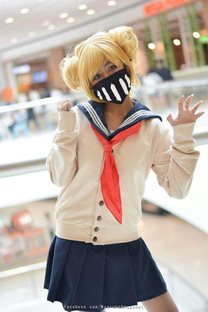 [self] I did the first test of my Himiko Toga cosplay