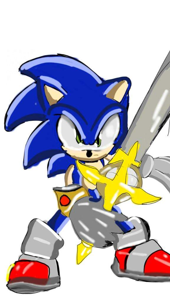 Im The Knight Of The Wind Sonic The Hedgehog Amino