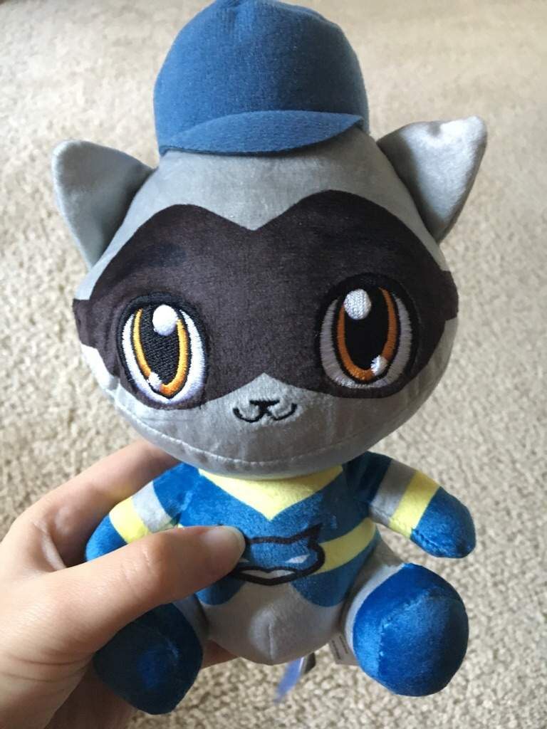 Sly Cooper Stuffed Animal, I Got The Sly Plush Sly Cooper Raccoon Amino