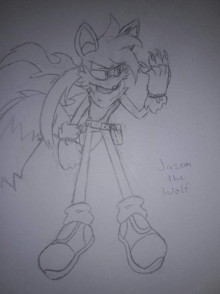 First One Is My Old Oc Jason The Wolf And I Made Him Since 2015 Always Wanted To Draw Again But Forget Because Got Other Stuff