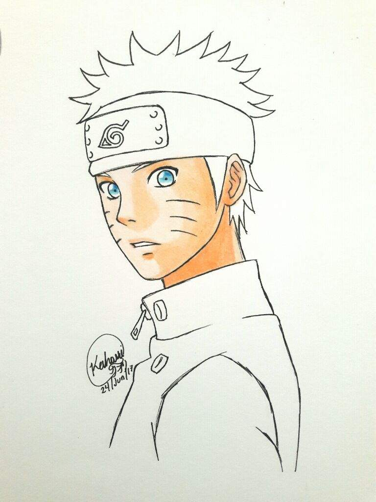 ✏🎨Proceso de dibujo: Naruto Uzumaki✏🎨   •Naruamino• Amino