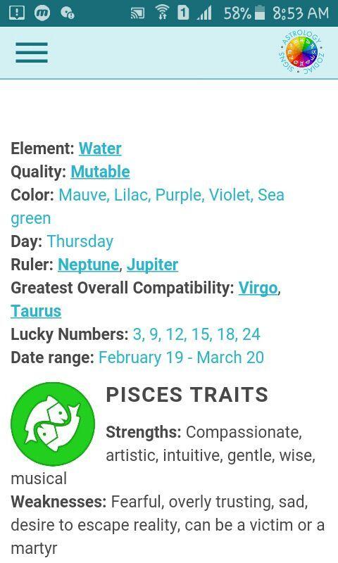Pisces Zodiac Sign/Symbol | ✐Drawing✎ Amino