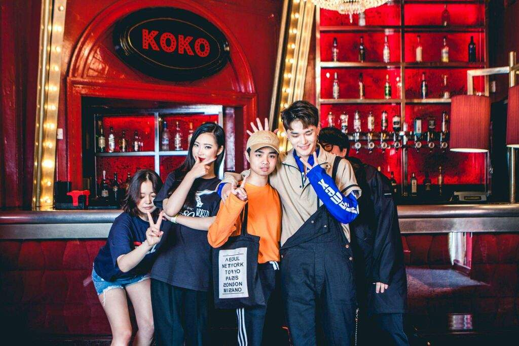 Koko london concert meet greet photos dean amino m4hsunfo