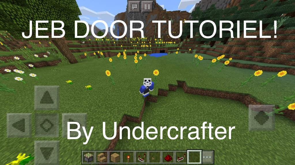 Today I re-created Jeb door! It took about 30 minutes to build it. & Jeb door Redstone TUTORIEL! | Minecraft Amino