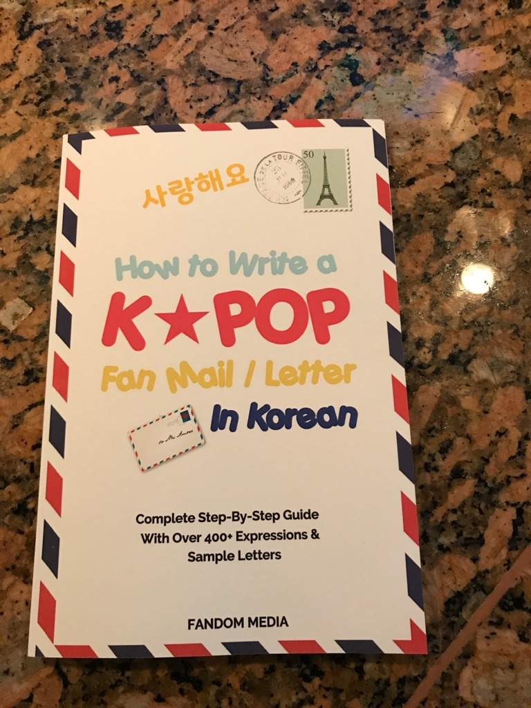 How To Write A Fan Letter BTS IN KOREAN