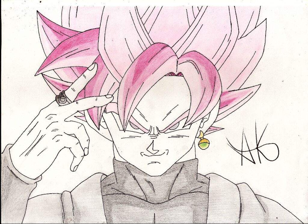 Dibujo De Black Ssj Rose Dibujosak7 Tdr Dragon Ball Español Amino