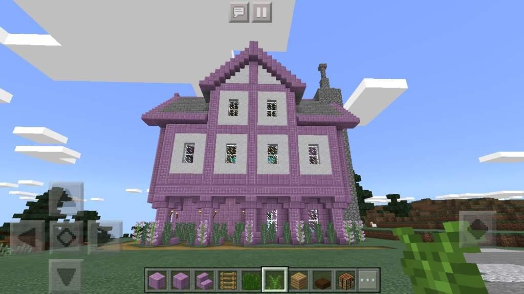 Fantasy Purpur House Minecraft Amino