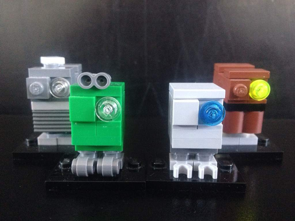 Custom Lego Gonk Droids Star Wars Amino