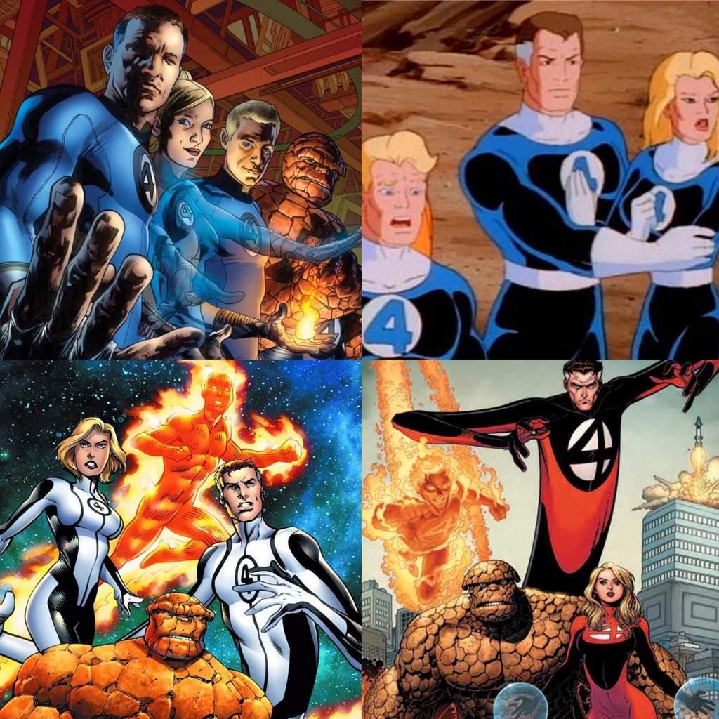 THIS EPISODE Fantastic Four  sc 1 st  Amino Apps & Best Superhero Costumes - ROUND 1 | Comics Amino