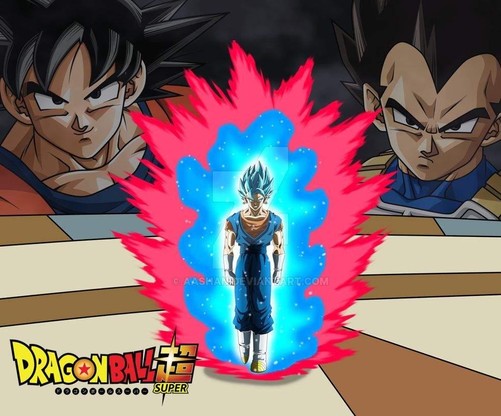 Vegito Super Saiyan Blue With Kaioken X100 Vs Giorno Anime Amino