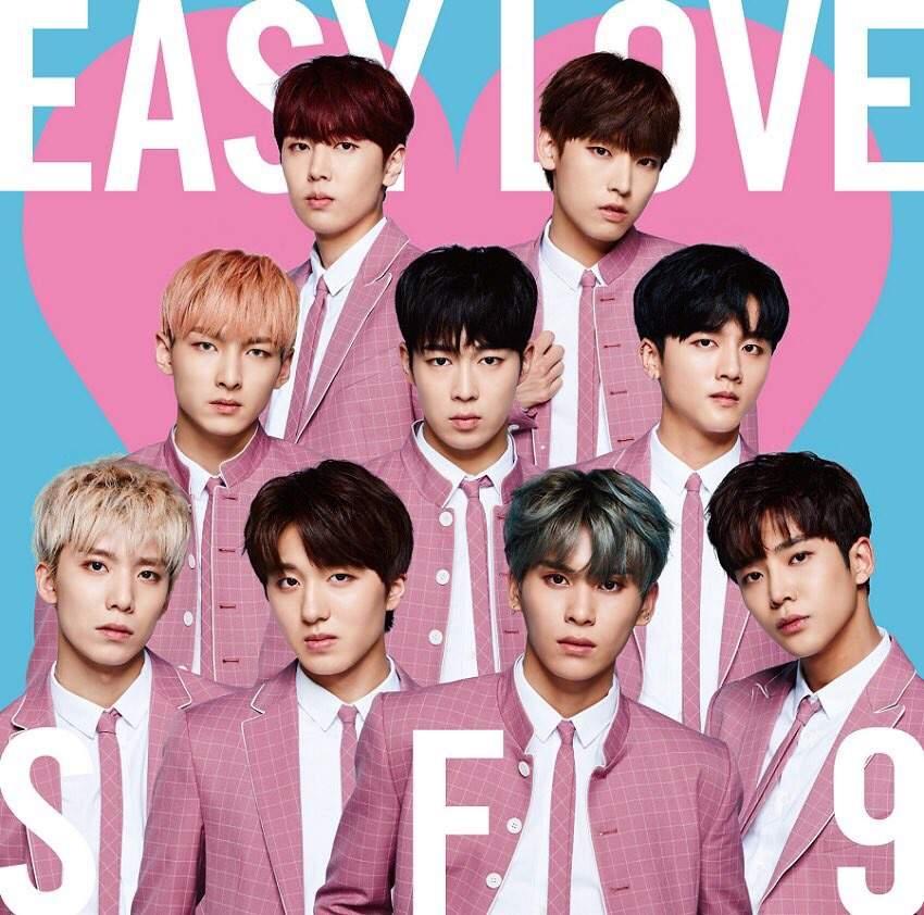 "SF9 2nd Japanese Single ""Easy Love"" Album Jacket | SF9 Amino"