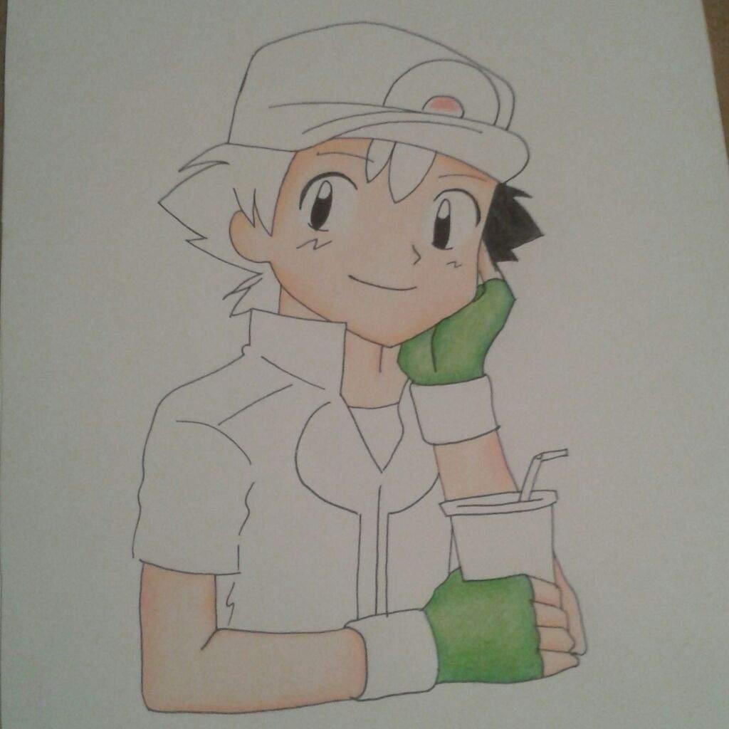 Ash ketchum dibujo!!!! | •Anime• Amino