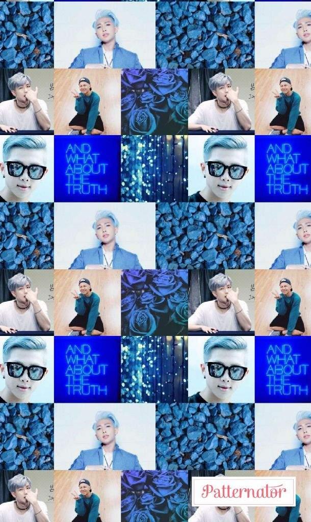 Bts Rap Monster Aesthetic Pattern Wallpaper Army S Amino