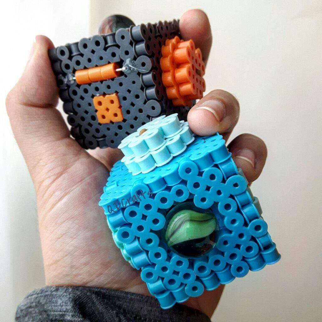 diy 3d perler bead fidget cubes beads and pixels amino amino