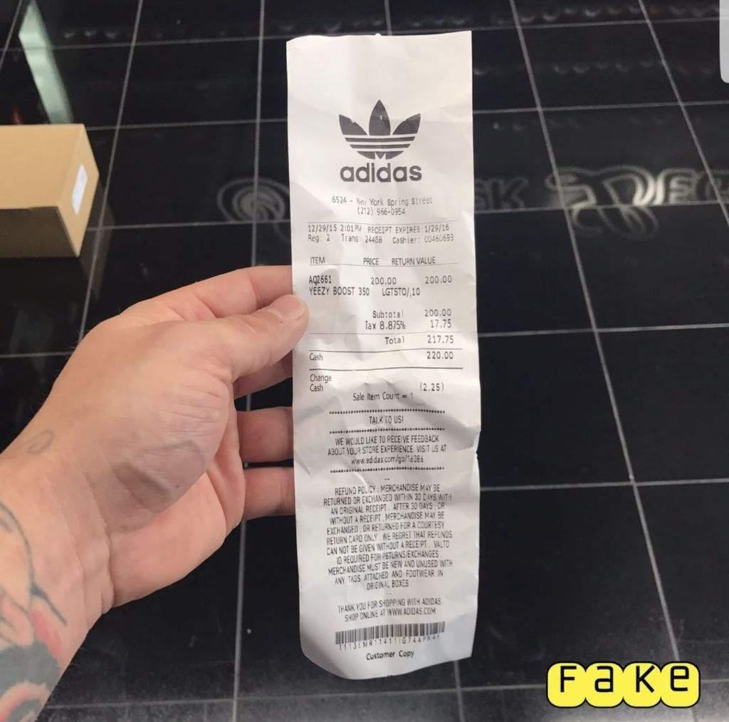 fake receipt hol up sneakerheads amino