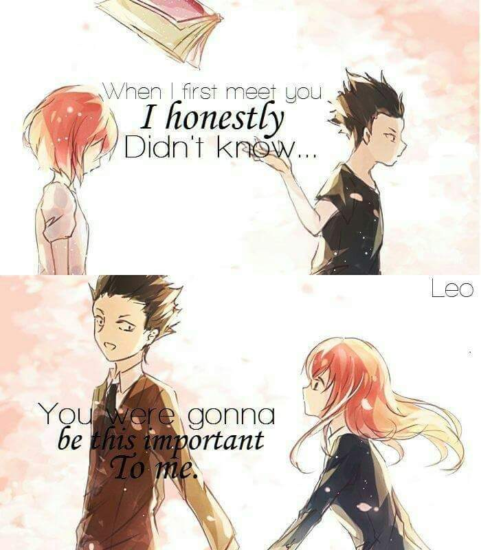 anime quote a silent voice anime amino