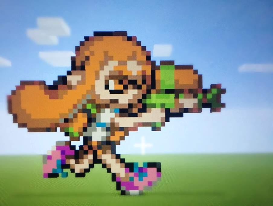Pixel Art Splatoon2 Amino