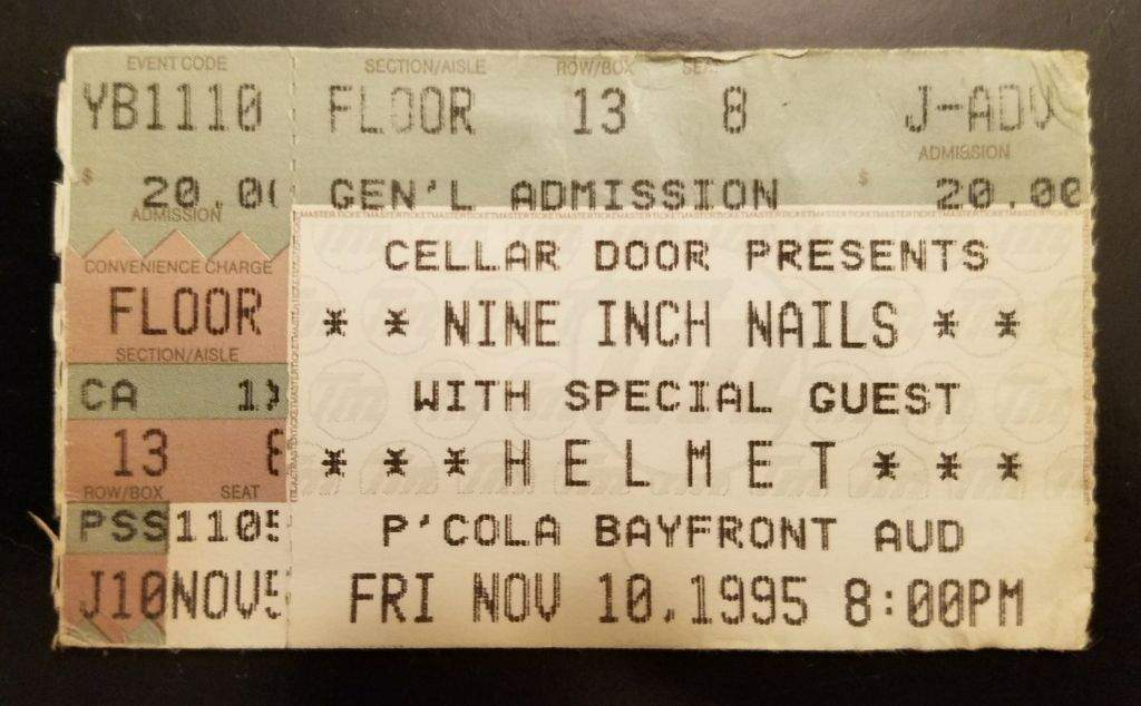 NMW Concert Review - Nine Inch Nails (NIN) / Helmet   Metal Amino