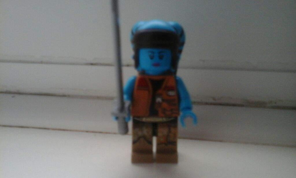 Custom Lego Star Wars Dark Blue Male Twi Lek Jedi knight