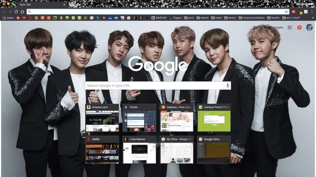 BTS Google Chrome Themes | ARMY's Amino