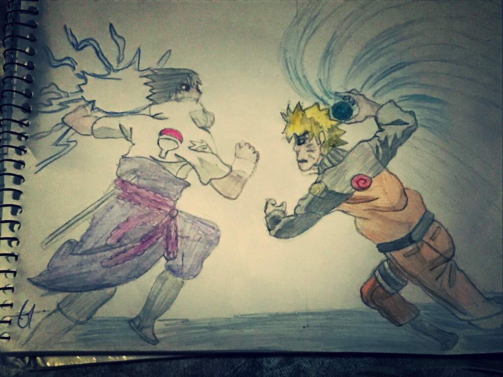 naruto vs sasuke desenho deem suas notas boruto oficial br amino